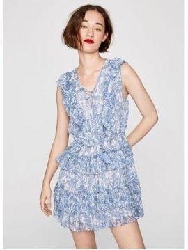 Krátké letní boho šaty Pepe Jeans MAGALI